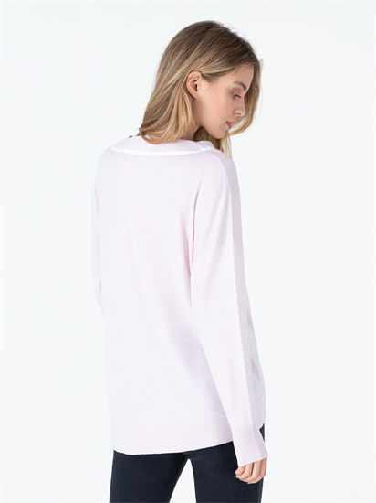 Bild von Oversized Pullover mit Tape