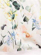 Bild von Cardigan aus Material-Mix mit Blumen-Print