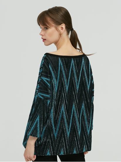 Bild von Pullover mit ZickZack-Muster aus Lurex