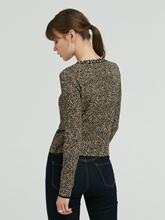 Image sur Veste avec imprimé léopard