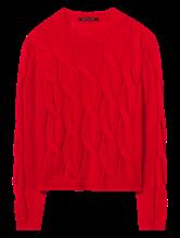 Image sur Pullover motif tressé