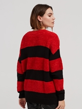 Image sur Pullover oversize à rayures