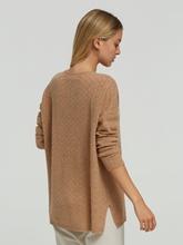 Image sur Pullover oversized texturé