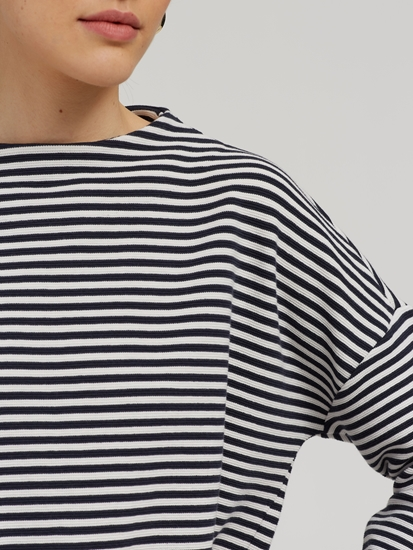 Bild von Oversized Pullover mit Streifen