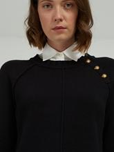 Bild von Pullover mit Bluseneinsatz