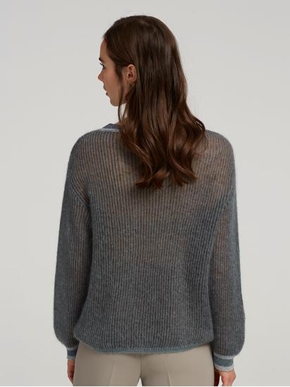 Image sur Pullover grosses mailles avec lurex