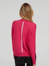 Image sur Pullover à rayures contrastes