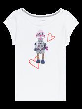 Bild von T-Shirt mit Print und Pailletten