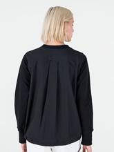 Bild von Sweatshirt aus Material-Mix