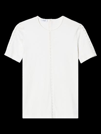Bild von T-Shirt mit Bordüre