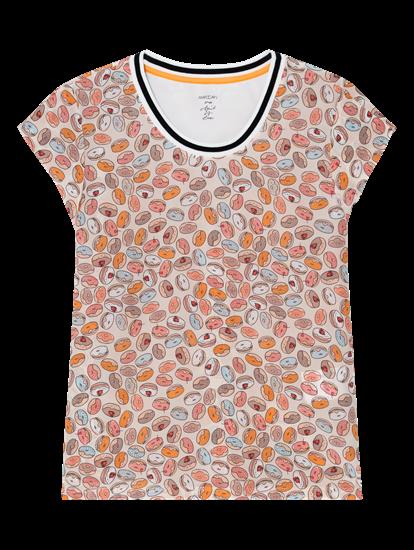 Bild von Blusenshirt aus Seide mit Print