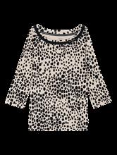 Image sur Shirt mit Leo-Print