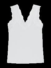 Image sur Top fil flammé avec dentelle