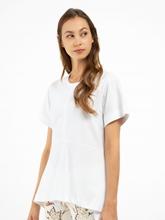 Image sur T-shirt avec volants