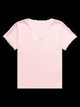 Image sur T-shirt fil flammé et broderies