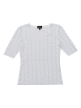 Image sur T-shirt texturé