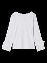 Image sur Shirt manches longues mélange de matières