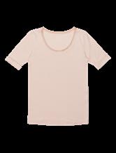 Bild von Shirt mit Seiden-Einsatz
