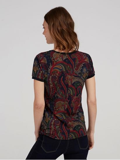 Image sur T-shirt imprimé Paisley