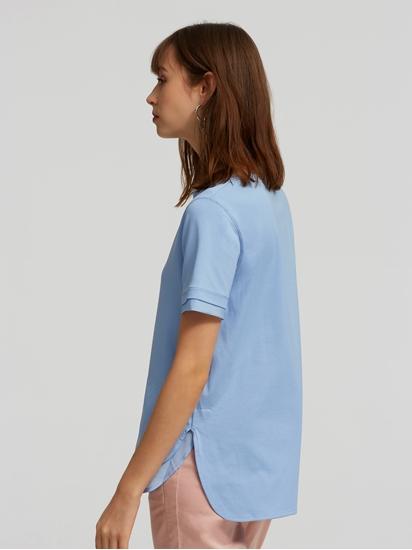 Image sur T-shirt empiècement satin