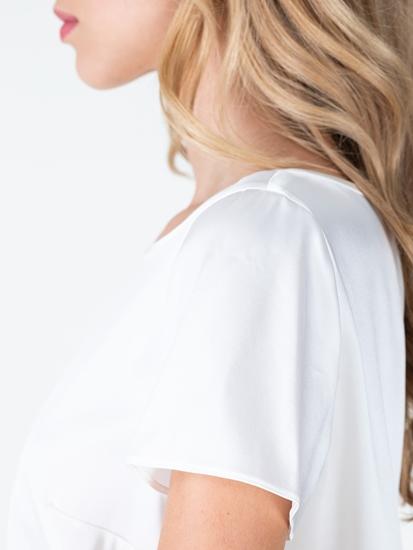 Bild von Blusenshirt aus Seide