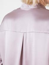 Image sur Blouse en soie avec pochette