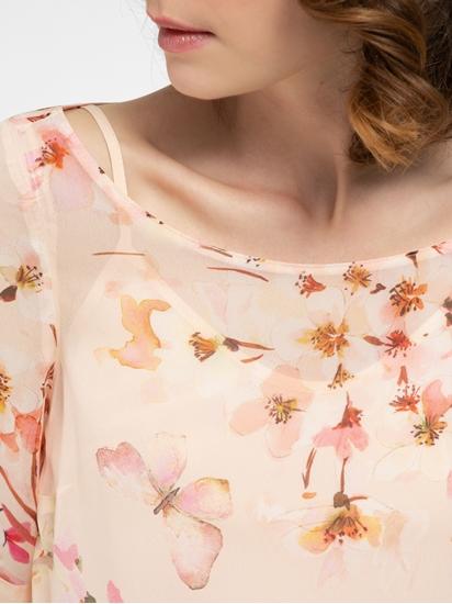 Bild von Bluse mit Top und Blumen-Print
