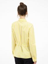 Bild von Bluse mit Gummizug und Streifen