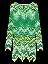 Image sur Robe avec motif zigzag