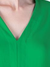 Image sur Blouse avec cordon de serrage