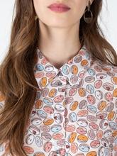 Bild von Bluse aus Seide mit Print