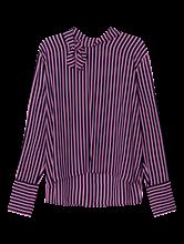 Image sur Blouse avec noeud au col