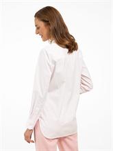 Image sur Blouse à rayures et plis