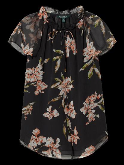 Bild von Blusenshirt mit Blumen-Print