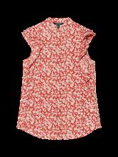 Image sur Top imprimé floral et volants