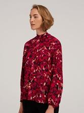 Bild von Schluppenbluse mit Print