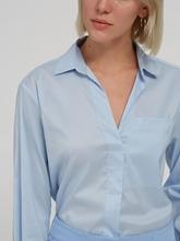 Bild von Oversized Bluse mit Brusttasche