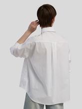 Bild von Hemdbluse aus Popeline-Stretch