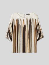 Bild von Kimono-Top mit Federn-Print