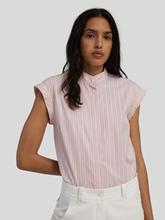 Image sur Chemise manches courtes à rayures