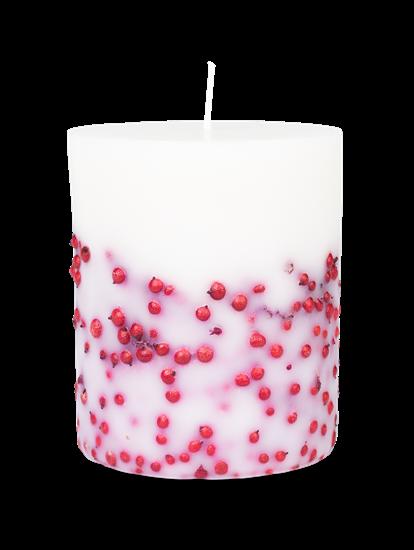 Bild von Kerzen mit Roten Beeren 900g