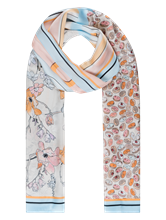 Image sur Foulard en soie imprimé