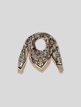 Image sur Foulard avec imprimé léopard