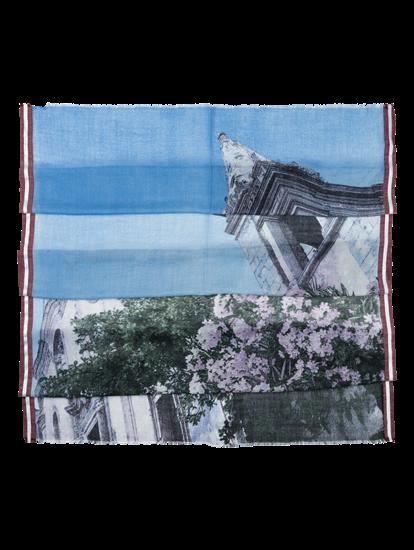 Image sur Echarpe imprimée avec lurex