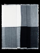 Bild von Schal mit Streifen und Lurex