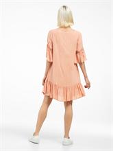 Bild von Tunika Kleid mit Volants und Lurex