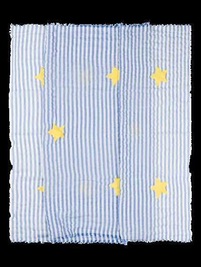 Bild von Schal mit Streifen und Sternen