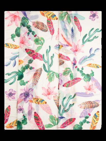 Bild von Sommerschal mit Print