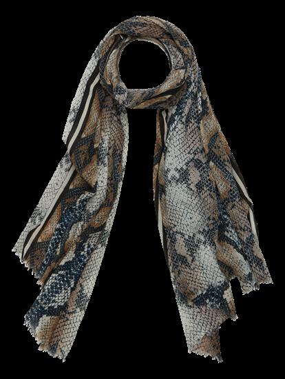 Bild von Schal mit Schlangen-Print