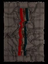 Bild von Schal aus Material-Mix mit Print